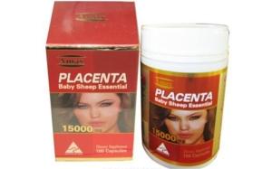 Viên uống nhau thai cừu Placenta Amax của Úc 15.000mg hộp 100 viên