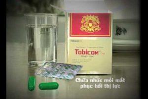 Thuốc bổ mắt Tobicom có tác dụng gì