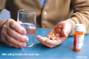 10 điều cấm kỵ khi uống thuốc