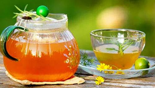 Trà quất mật ong