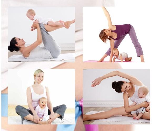 Sau sinh mẹ nên tập gì
